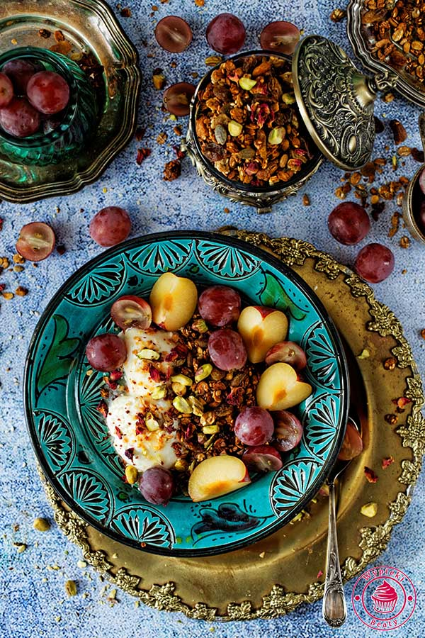 granola sezamowa
