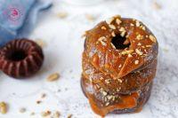 donuty czekoladowe z masłem orzechowym