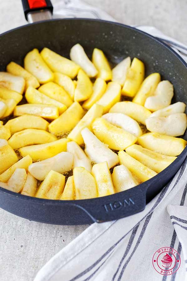 patelnia woll smażone jabłka
