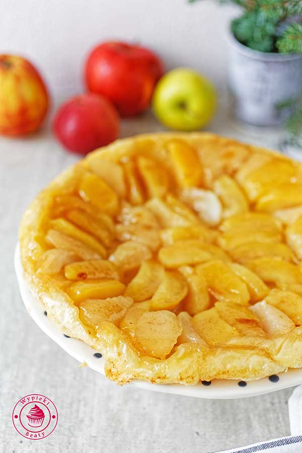proste i szybkie ciasto z jabłkami