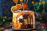 piernikowy tort na winie