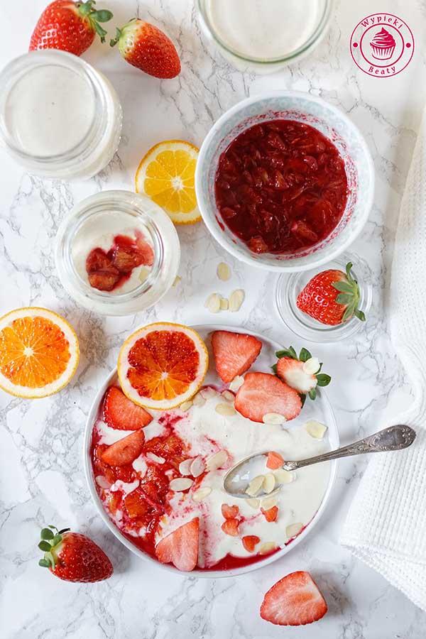 prosty domowy jogurt