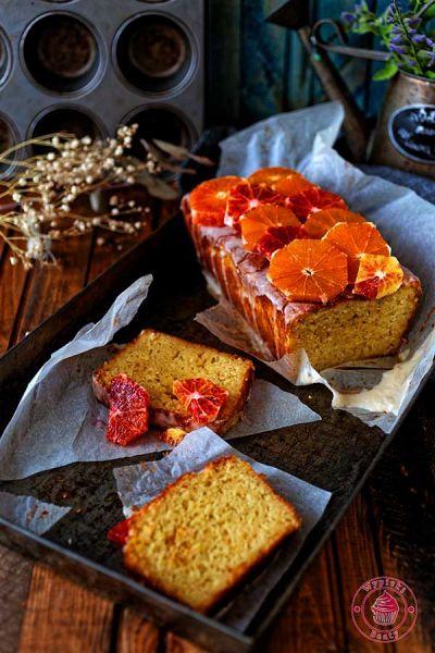 proste ciasto z pomarańczami