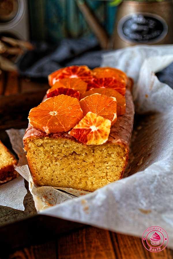 proste i pyszne ciasto pomarańczowe