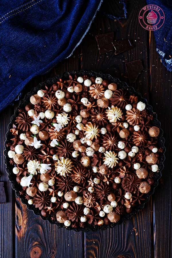 tarta czekoladowa z pomarańczami