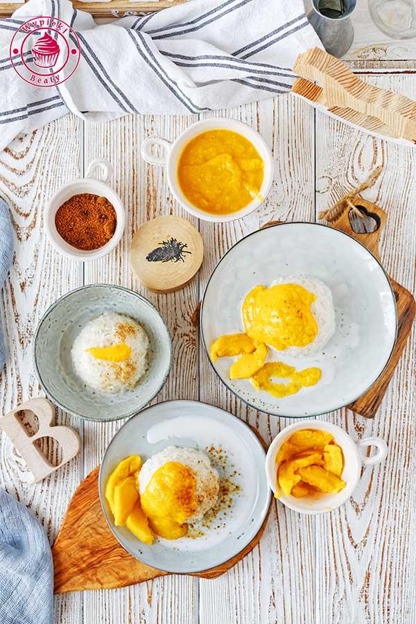 kokosowy ryż z mango