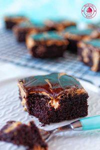 ciasto czekoladowe z karmelem