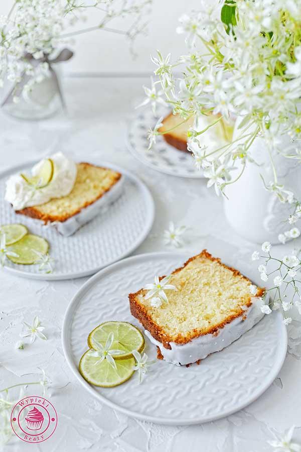 ciasto z limonkami