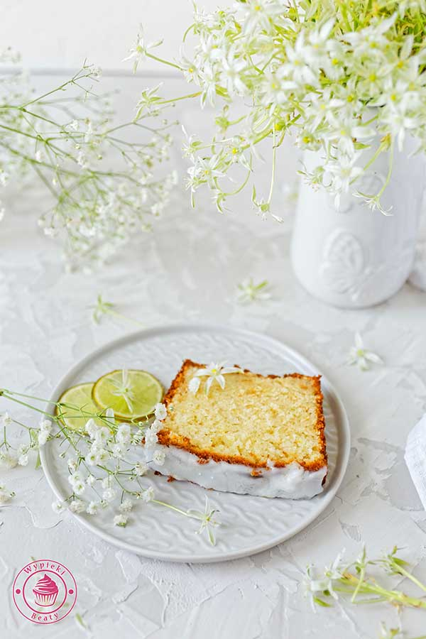 ricotta and lime pound cake