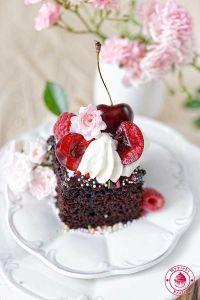ciasto czekoladowe wacky cake