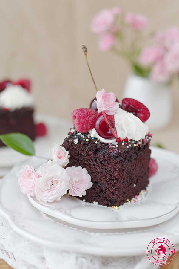 ciasto czekoladowe bez jajek