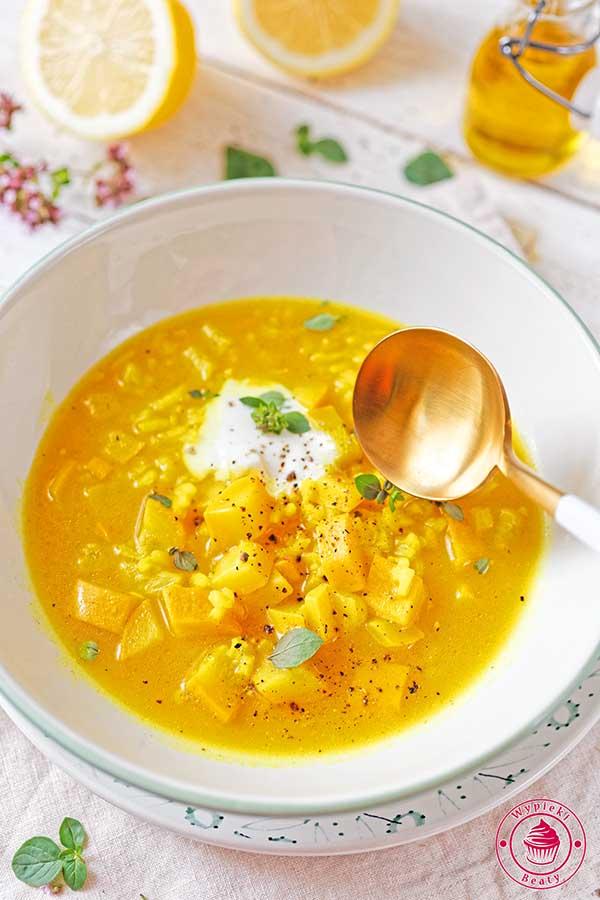 zupa z cukinii Nigelli
