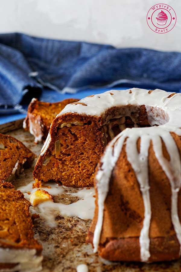 szybkie ciasto z dyni