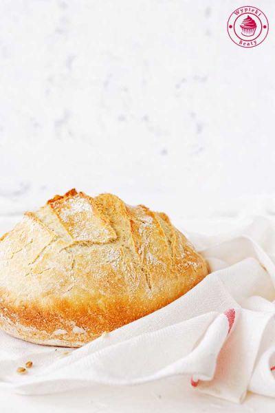 domowy chleb na drożdżach