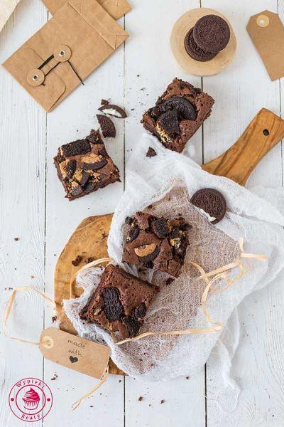 brownie z oreo