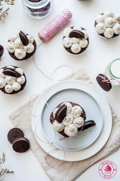 babeczki czekoladowe z oreo