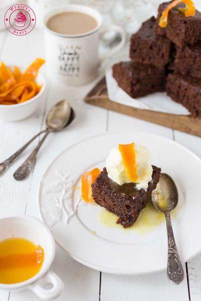 czekoladowe ciasto z cieciorki