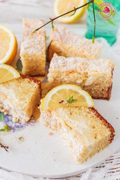 proste ciasto cytrynowe z kruszonką