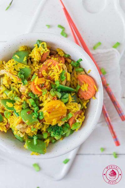 szybki ryż smażony