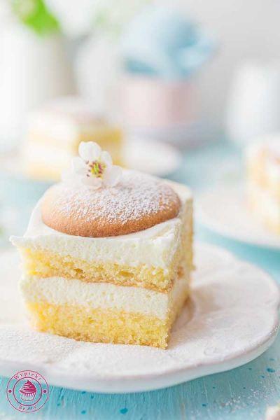 ciasto z serkami Danio