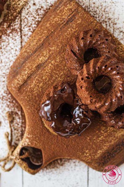 babeczki bardzo czekoladowe