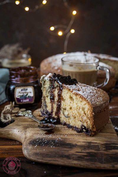 proste ciasto z konfiturą