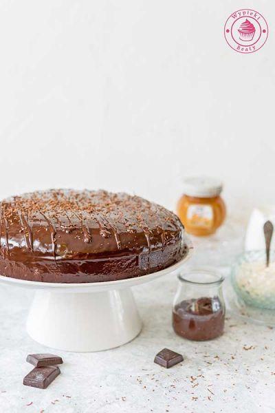 ciasto czekoladowe z konfiturą