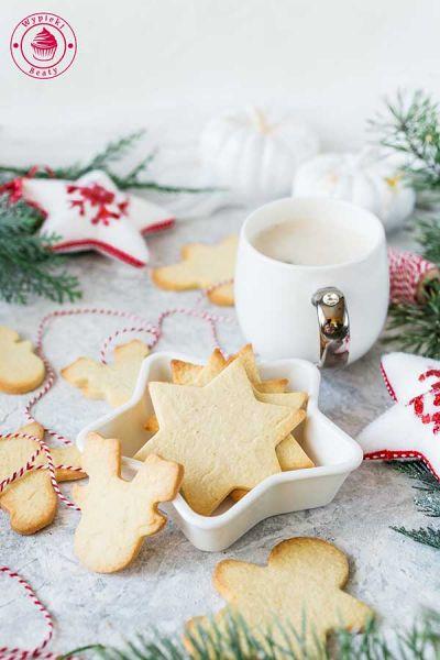 kruche ciastka świąteczne