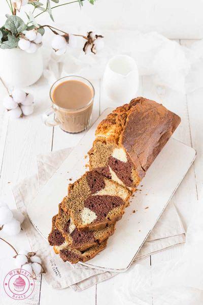 ciasto czekoladowo-kawowe z wanilią