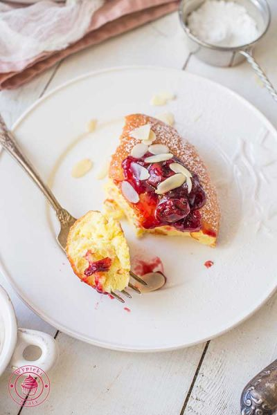 puszysty omlet pieczony
