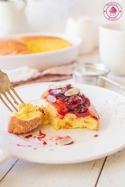 puszysty omlet biszkoptowy