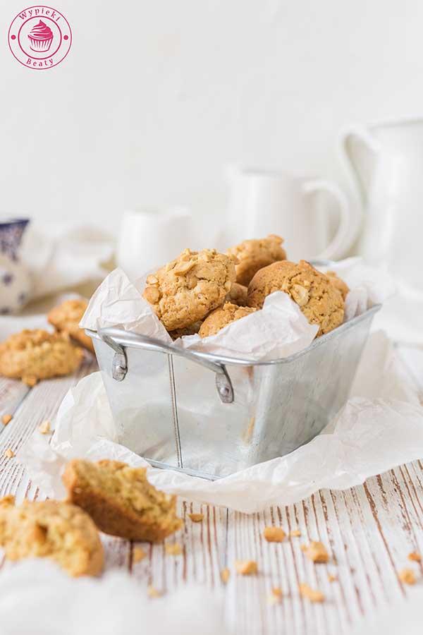 ciasteczka z orzeszkami ziemnymi