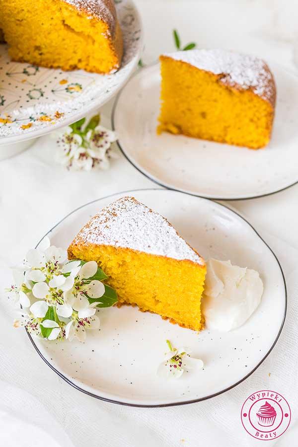 Ciasto marchewkowe z Brazylii