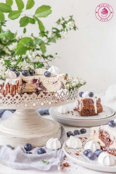 ciasto czekoladowe z twarogiem