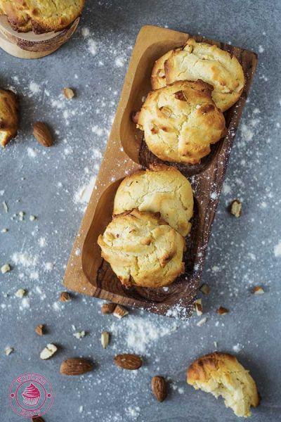 szybkie ciasteczka z migdałami