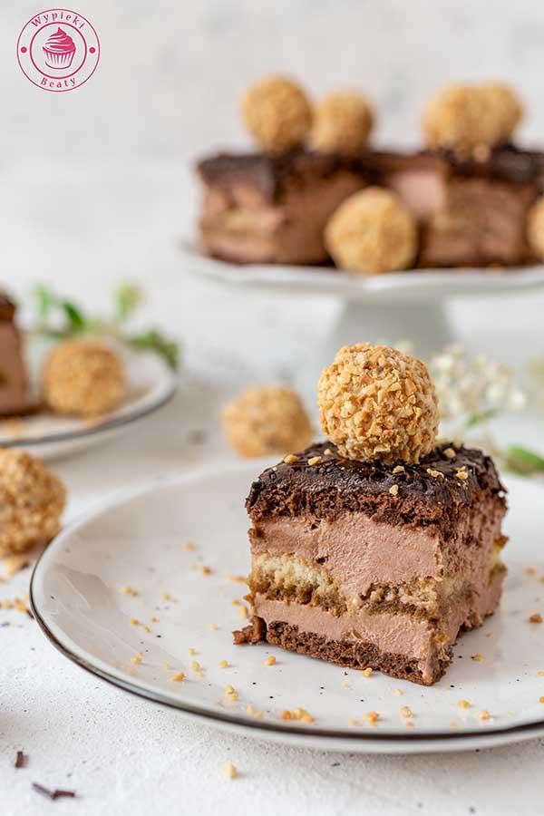 czekoladowy sernik gotowany