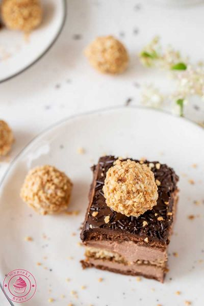 sernik gotowany z czekoladą