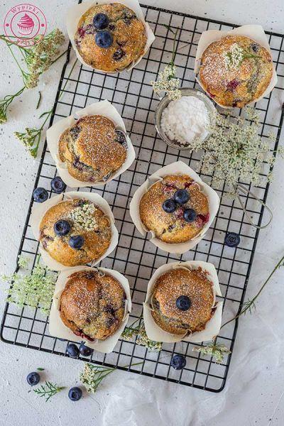 szybkie muffinki z owocami
