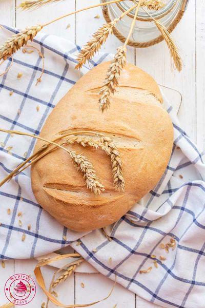 szybki chleb na drożdżach