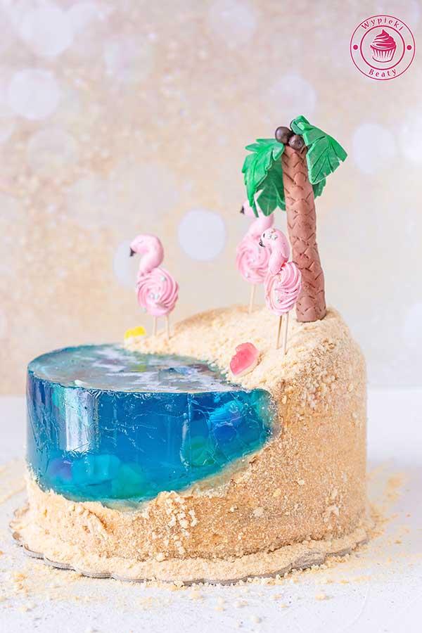 tort rajska plaża