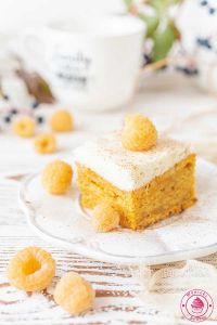 ciasto marchewkowe z musem gruszkowym