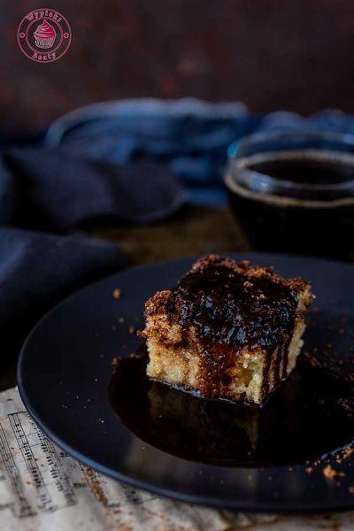 ciasto cynamonowo-kawowe
