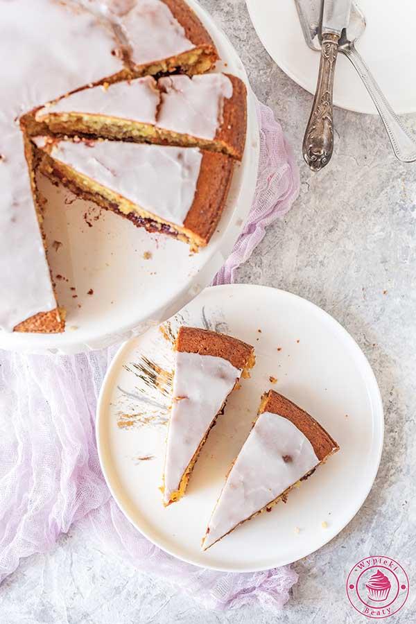 proste ciasto z dżemem