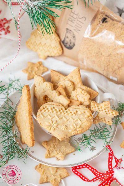 ciasteczka orzechowe z mielonymi orzechami