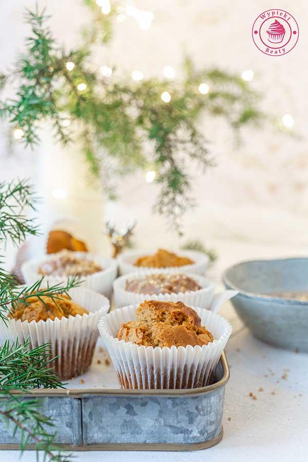 muffinki dyniowo-piernikowe