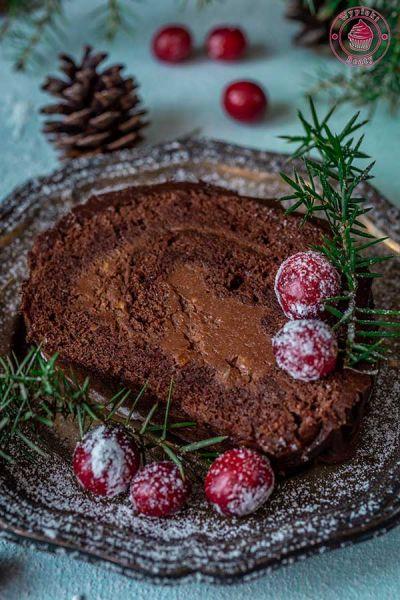 czekoladowa rolada