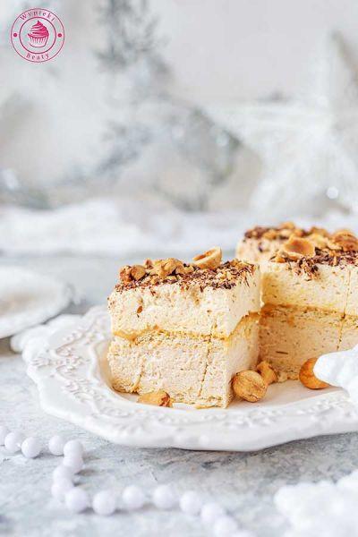 ciasto kajmakowo-orzechowe