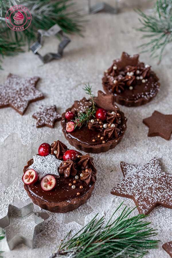 tarta czekoladowo-piernikowa