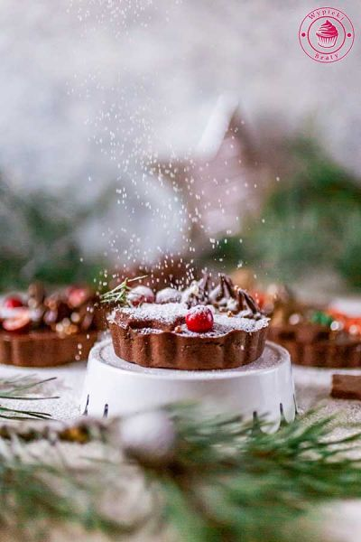 tarta piernikowo-czekoladowa