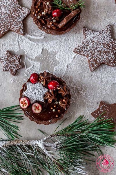 kruche tarty czekoladowe